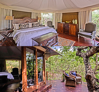 Big 5 Thanda Game Reserve Safari Tents Mkuze KwaZulu-Natal
